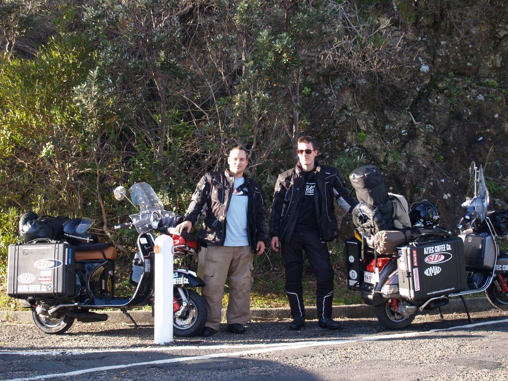 Boys at Cape Byron