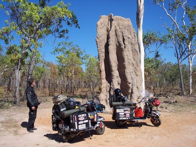 Termite Mound Vespa