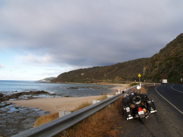 Great Ocean Road Vespa
